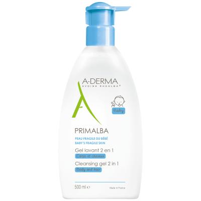 A-Derma Primalba gel za umivanje telesa in las, 500 ml