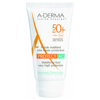 A-Derma Protect AC matirajoči fuid ZF50+, 40 ml