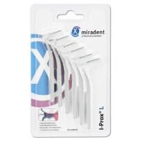 Miradent I Prox L Medzobne ščetke – Fina, 6 ščetk – Bela