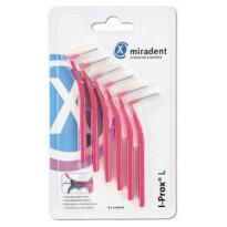 Miradent I Prox L Medzobne ščetke – Xxfina, 6 ščetk – Roza