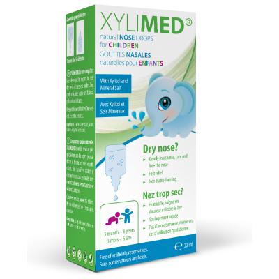 Miradent Xylimed Naravne Kapljice Za Nos Za Otroke 22 Ml 1