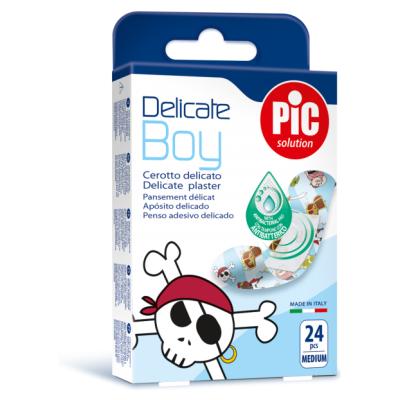 Pic Antibakterijski Obliž Za Dečke Delicate, 24 Obližev