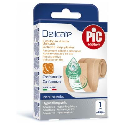 PiC Antibakterijski obliž za rezanje kožne barve Delicate, 50 x 8 cm