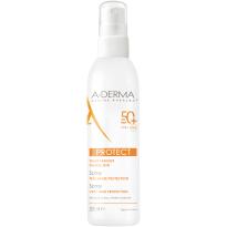 A-Derma Protect pršilo za zaščito pred soncem ZF50+, 200 ml