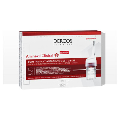 Vichy Dercos Aminexil Clinical 5 Nega Proti Izpadanju Las Za ženske