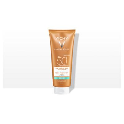 Vichy Ideal Soleil Mleko Za Telo Zf 50+ Družinski Paket