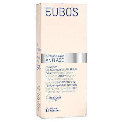 Eubos Anti Age Hyaluron Eye Contour Cream Serum 15ml