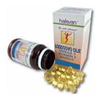 Hafesan Lososovo Olje Omega 3 Vitamin E 500 Mg