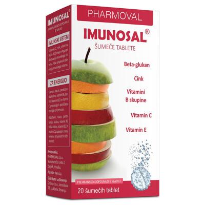 Imunosal šumeče Tablete