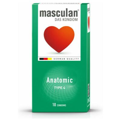 Masculan® Anatomic 10er Type 4
