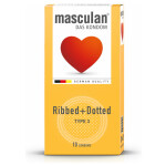 Masculan® Ripped+dotted 10er Type 3
