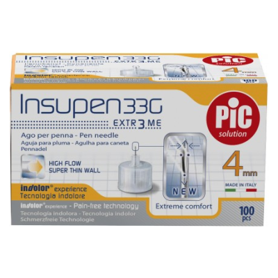 Pic Igle Za Inzulin Insupen G33 4mm 100x