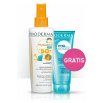 Photoderm Kid Spray Spf 50 Gratis Abcderm Gel Moussant
