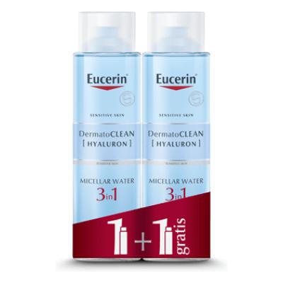 Eucerin Dermatoclean [hyaluron] Micelarni čistilni Fluid 3 V 1 1+1