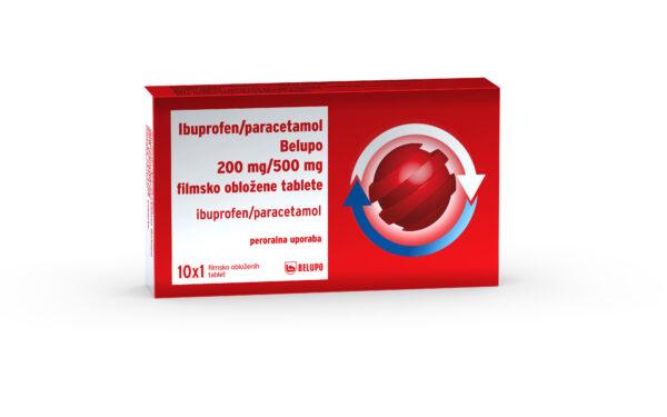 Ibuprofen Paracetamol Belupo