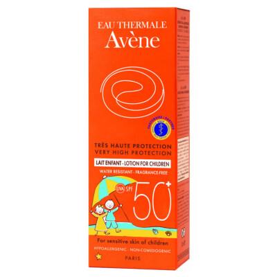 15 Avsol Etui Solaire 100ml Lait Enfant 50+