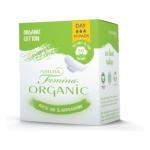 Natura Femina Organic Dnevni Organski Bombažni Vložki, 10 Kos