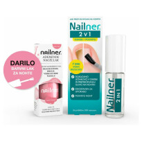 Nailner Brush + Pink Si