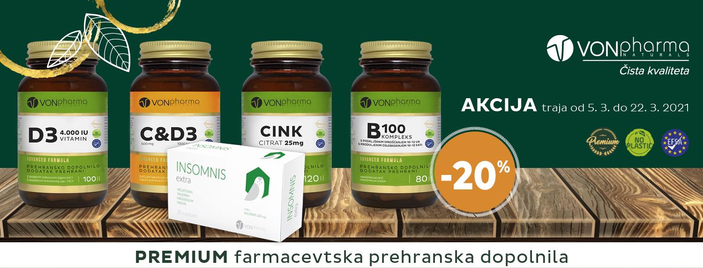 Vonpharma 20% Marec