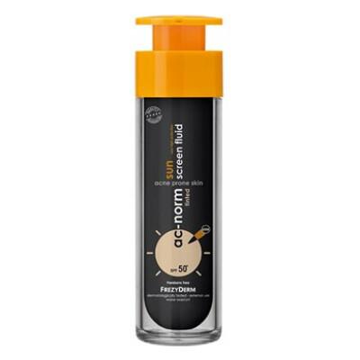 Sunscreen Acnorm Tinted Fluid