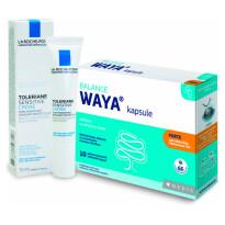 210407 Waya Forte Kapsul 10 Cps + Kremica Toleriane Sensitive Si