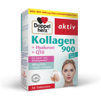 Doppelherz Aktiv Kolagen 900 + Hialuron + Q10, 30 Kapsul